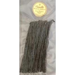 RECHARGE de 50 gousses de Vanille Noire de Madagascar Calibre 18 cm