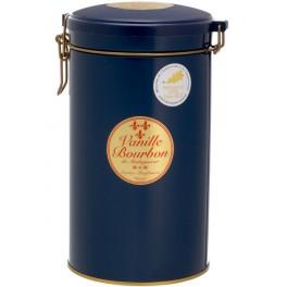 Boite hermétique de 90 gr. soit environ 30 gousses de Vanille Bourbon de Madagascar Medaille OR