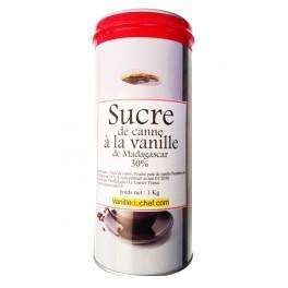 500 gr - Sucre de canne brun à la vanille de Madagascar